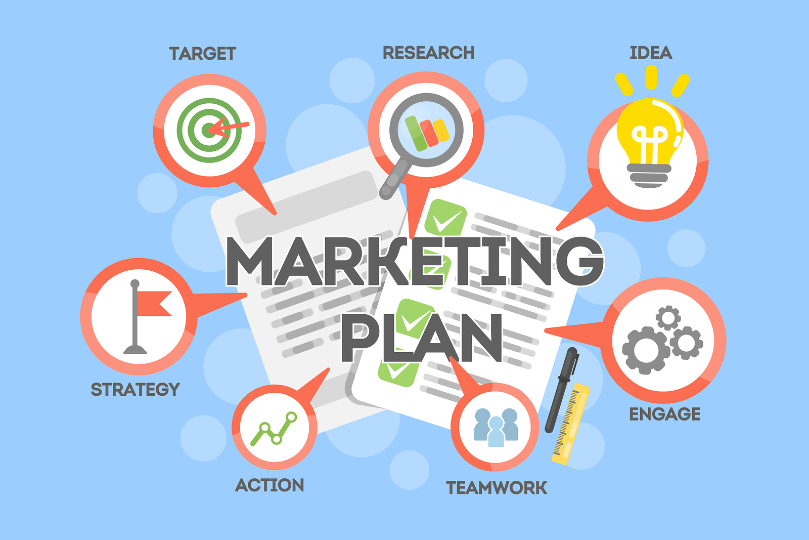 The Steps to Creating a Comprehensive Marketing Plan