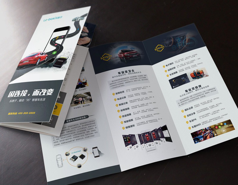 The uses of large printing posters in business advertisements